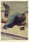 In an instant those long fingers closed on the governor by Fleet Library, Visual + Material Resources, and Howard Pyle