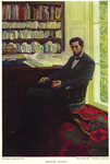 """Abraham Lincoln, illustration for """"Lincoln's Last Day"""""""