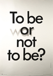 To be or (war) not to be?