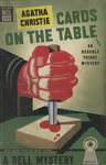 Cards on the Table by Agatha Christie, Visual + Material Resources, and Fleet Library