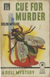 Cue for Murder by Helen McCloy, Visual + Material Resources, and Fleet Library