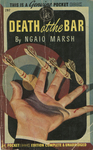 Death at the Bar by Ngaio Marsh, Visual + Material Resources, and Fleet Library