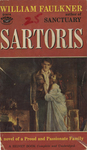 Sartoris by William Faulkner, Visual + Material Resources, and Fleet Library