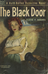 The Black Door by Cleve F. Adams, Visual + Material Resources, and Fleet Library