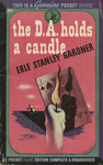 The D.A. Holds a Candle by Erle Stanley Gardner, Visual + Material Resources, and Fleet Library