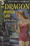 The Dragon Murder Case by S.S. Van Dine, Visual + Material Resources, and Fleet Library