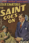The Saint Goes On by Leslie Charteris, Visual + Material Resources, and Fleet Library