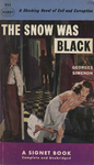 The Snow was Black by Georges Simenon, Visual + Material Resources, and Fleet Library