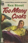 Too Many Cooks by Rex Stout, Visual + Material Resources, and Fleet Library