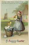 A Happy Easter by International Art Publishing Company