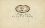 A Happy Easter and joys by the bushel by Gibson Art Company