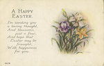 A Happy Easter by Owen Card Publishing Company