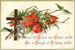Above the Cross our Father sends... by Raphael Tuck & Sons
