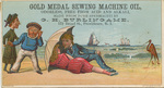 Gold Medal Sewing Machine Oil by Ketterlinus Publishing Company, Philadelphia
