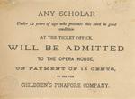 "New York Miniature Opera Company, ""A British Sailor is a Splendid Fellow"" (verso)"