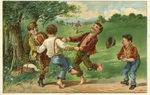 Untitled (Children playing and picnicking) by John Henry Bufford