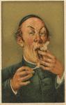 Untitled (Man lighting cigar)