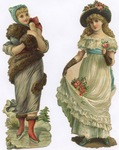 Untitled (Two Victorian Ladies)