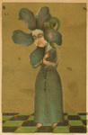 Untitled (Flower Head Woman)