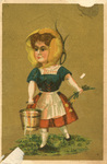 Untitled (Little Girl with water pail)
