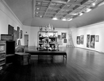 C9 Waterman Gallery with Paintings, Furniture, and Sculpture by Robert O. Thornton, RISD Museum Photographer