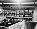 American Windsor Chairs in Storage by Robert O. Thornton, RISD Museum Photographer