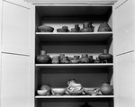 Mound Builders' Pottery in Storage by Robert O. Thornton, RISD Museum Photographer