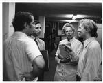 Andy Warhol with Dominique de Menil