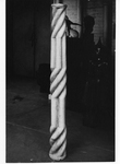 Italian Twisted Column in Storage by Robert O. Thornton, RISD Museum Photographer