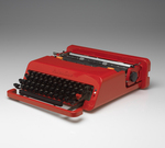 Valentine Portable Typewriter and Case by RISD Museum, Perry A. King, Khipra Nichols, and Kate Schapira