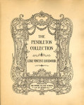 The Pendleton Collection by Luke Vincent Lockwood