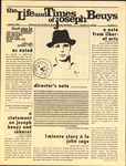 The Life and Times of Joseph Beuys (pg. 1)