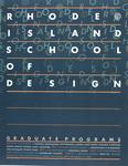 Rhode Island School of Design Graduate Programs / Rof Bronnimann
