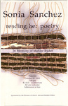 Sonia Sanchez: reading her poetry: In Memory of Mahler Ryder
