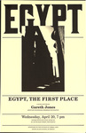 Egypt, the First Place: A Slide Lecture by Gareth Jones