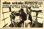Allan Sekula: Documentary Spectacle of Fact