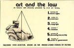 Art and the Law: Six Lectures with discussion presented by RISD Art History