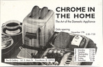 Chrome in the Home: The Art of the Domestic Appliance