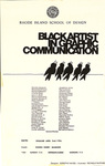 Black Artist in Graphic Communication / Dorothy Hayes