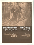 David Weindel: photographs Tim Casey: paintings