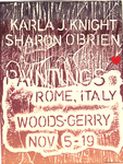 Karla J. Knight; Sharon O'Brien: Paintings: Rome, Italy / Thomas