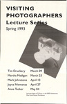Visiting Photographers: Lecture Series: Spring 1993