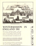 Wintersession in England 1981