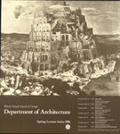 Rhode Island School of Design Department of Architecture Spring Lecture Series 1986