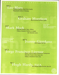 The Architectures: Lecture Series, Spring '98: Departments of Architecture, Interior and Landscape