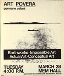 Art Povera: germano celant: Earthwork, Impossible Art, Actual Art, Conceptual Art (2)