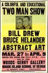A Colorful and Educational Two Man Show: Bill Drew, Bruce Helander: Abstract Art