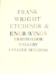 Frank Wright: Etchings and Engravings