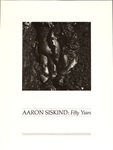 Aaron Siskind: Fifty Years / Center for Creative Photography