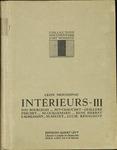 Interieurs III… publiées sous la direction et avec une introduction de Léon Moussinac by Léon Moussinac, Special Collections, and Fleet Library